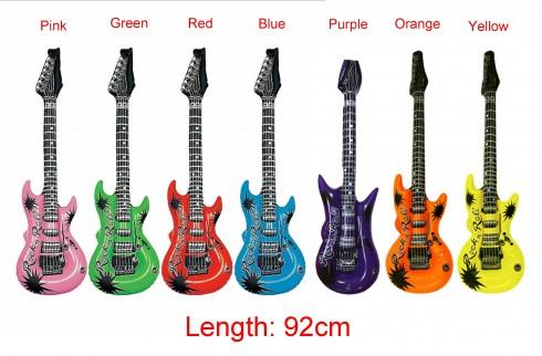 92cm Inflatable Blow Up Rock Guitar lx0241