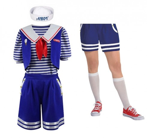 Ladies Robin Scoops Ahoy Costume Stranger Things