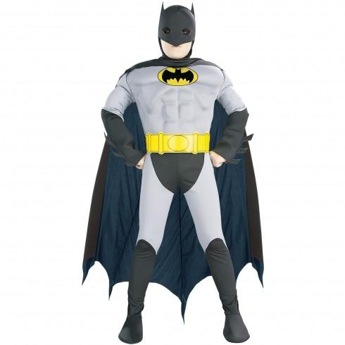 Batman Superhero Dark Knight Halloween Cosplay Kids Child Boys Costume