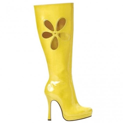 Yellow Go Go Boots