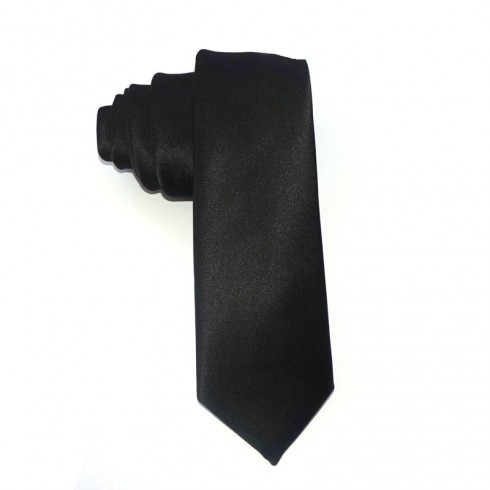 1920s Mens Black Gangster Costume Tie Roaring 20s Gatsby Fancy Dress Costume Accessory