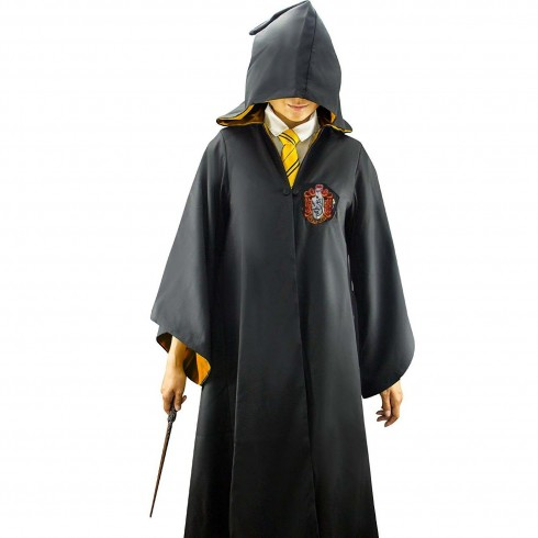 Hufflepuff Mens Ladies Harry Potter Adult Robe Costume Cosplay