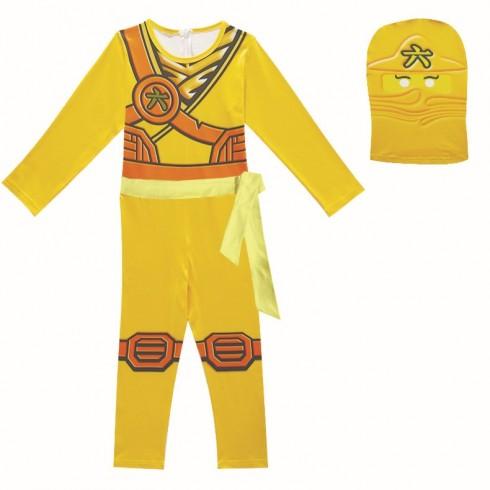 Yellow Ninjago Ninja Kids Costume