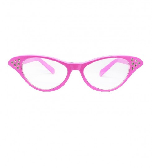 Clear Flyaway Style Rock and Roll Sunglasses