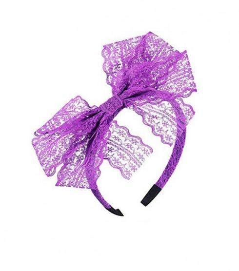 Purple 80s Party Headband