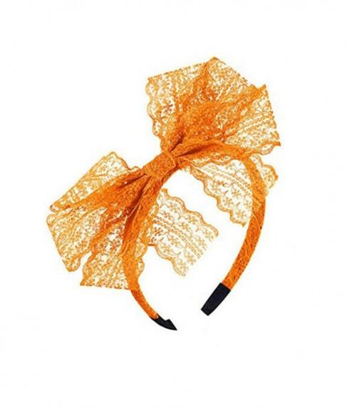 Orange 80s Party Headband