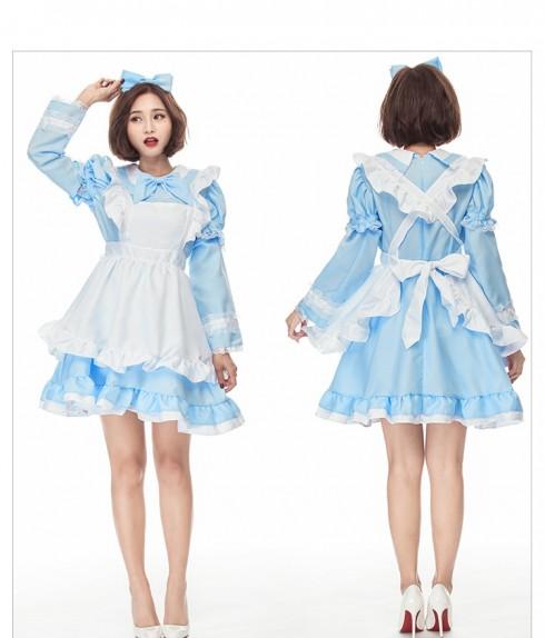 Ladies Alice in Wonderland Costume Book Week Dress