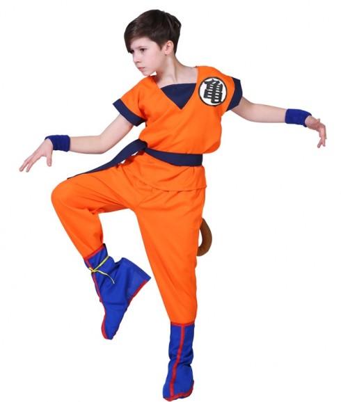 adult Dragon Ball Z Goku Costume + Wig tt3177-2