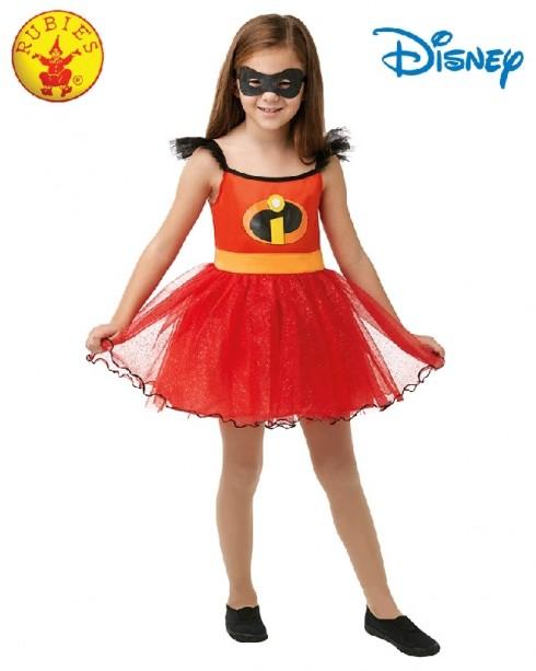 Incredibles 2 Character Costume Incredible Hero Kids Tutu Mask Licensed Disney superhero Girls