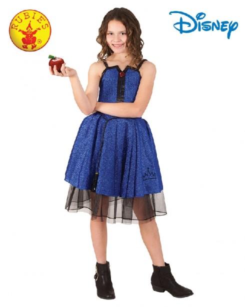 Child Deluxe EVIE DESCENDANTS Isle Disney Costume Girls Fancy Dress Book Week Outfit