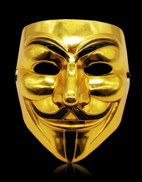 gold Vendetta Mask lx2025-3