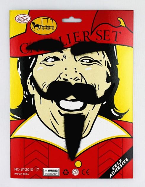 Musketeer Beard & Moustache Set tt1105