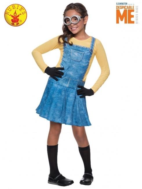 Kids Minion Dress Costume cl0158