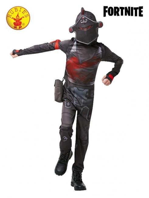 Kids Boys Girls Teen Black Knight Fortnite Gaming Halloween Costume