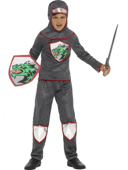 Kids Deluxe Knight Costume