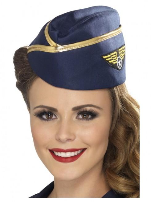 Ladies Air Hostess Hat