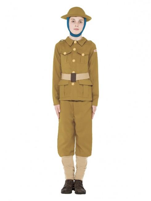 Kids Horrible Histories WWI War Costume cs27037