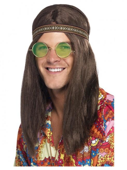 Mens Hippie Kit Headband Necklace Specs