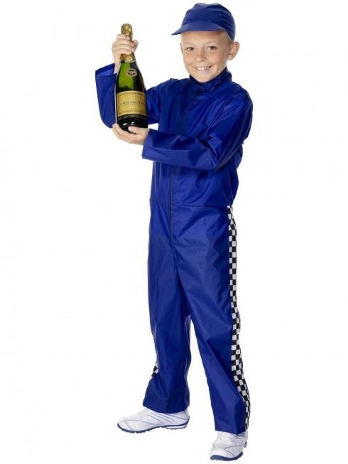 Boys Racing Driver Costume cs30431