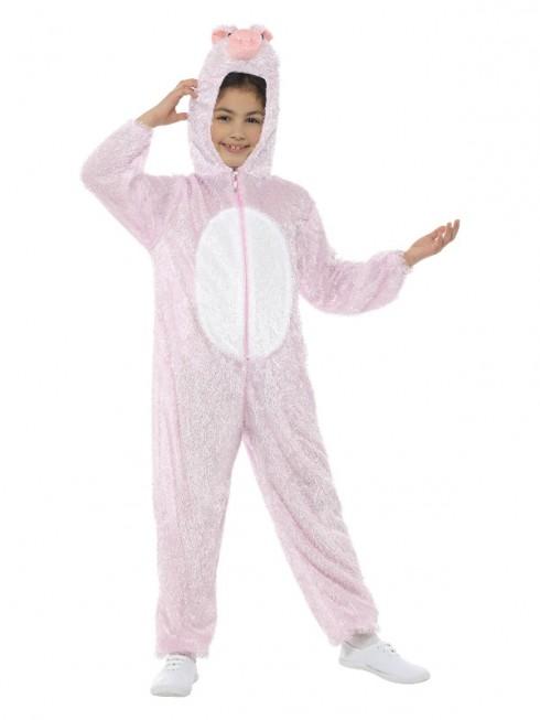 Kids Pig Costume Girls