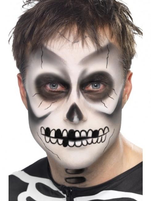 Skeleton Make Up Kit Skeleton Bones Make UP Kit Day of the Dead Make UP accessary