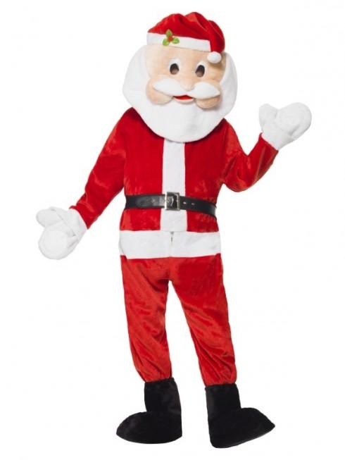 Santa Mascot Costume Jumpsuit