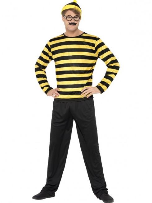 Where's Wally Costume CS41309