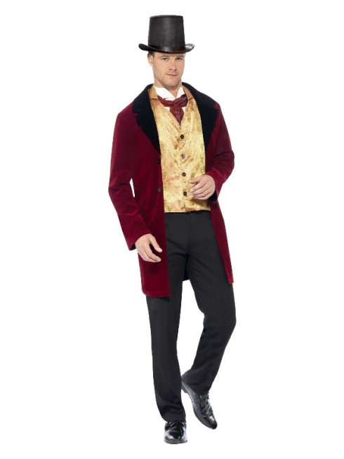 Edwardian Gent Mens Costume