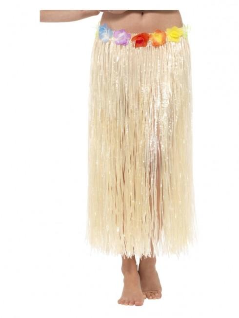 Ladies Hawaiian Hula Flower Skirt cs44590