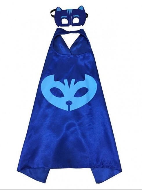 Blue PJ masks Gekko Costume