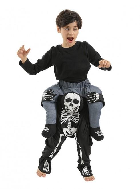 Child Skeleton Ride On Me Costume lp1028