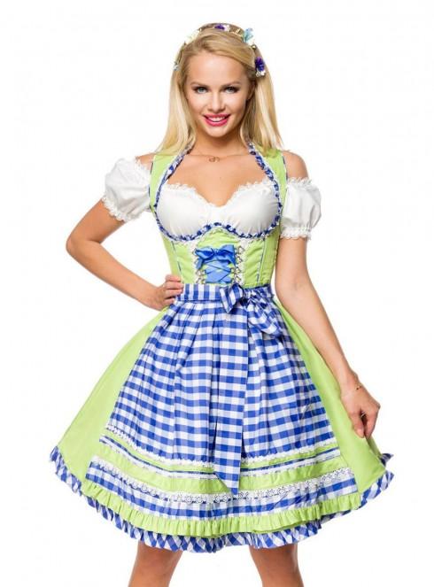 Ladies Oktoberfest Gretchen Costume lh324g
