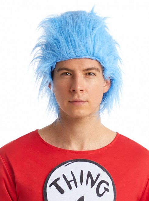 Adult Dr Seuss Cat In The Hat Wig