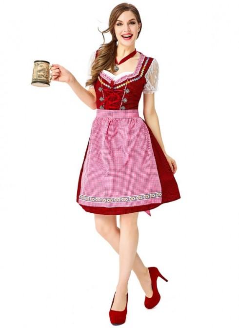 Ladies Oktoberfest Beer Maid Costume 3109