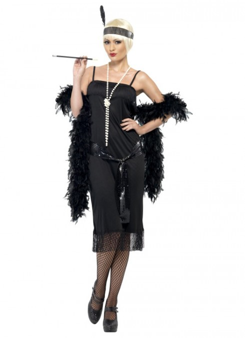 1920 flapper costumes Australia - Licensed 1920s 20s Laides Gatsby Charleston Flapper Chicago Jazz Fancy Dress Up Costume Party