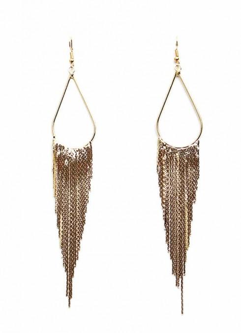 Vintage Bohemian tassels earrings lx0209