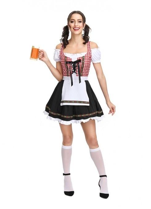 Ladies Oktoberfest Beer Maid Costume 3107 1