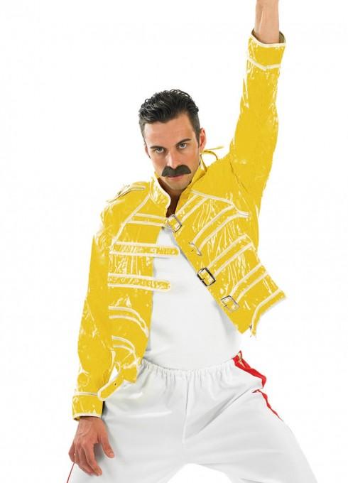 freddie mercury jacket yellow