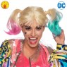 HARLEY QUINN BIRDS OF PREY WIG ADULT ACCESSORY
