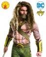 Aquaman Wig and Beard Set Fancy Dress Justice League Superhero Mens Costume Kit