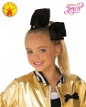 Black JoJo Siwa Large Teal 8inch Bow with Rhinestones & Pin Child Girls Fashion Hair Accessories Licensed