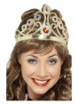 Gold Queens Crown Costume Accessory cs1437