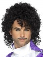 Mens 80s 1980s Purple Musician Costume Kit Party Singer Prince Pop Star Accessory