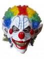 Halloween Scary Evil Full Mask Latex Foam Clown with Hair