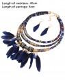 Tribal Jewellery Necklace Earrings Ladies