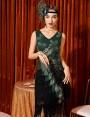 Womens 1920s Flapper Costume lx1051g-4