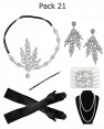 6pcs Roaring 1920 Accessories Set