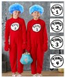 Kids DR SEUSS CAT IN THE HAT COSTUME pp1008