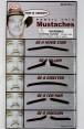 Pencil Thin Moustache of 5 tt1101