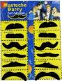 Peel & Stick Moustache party Set tt1111